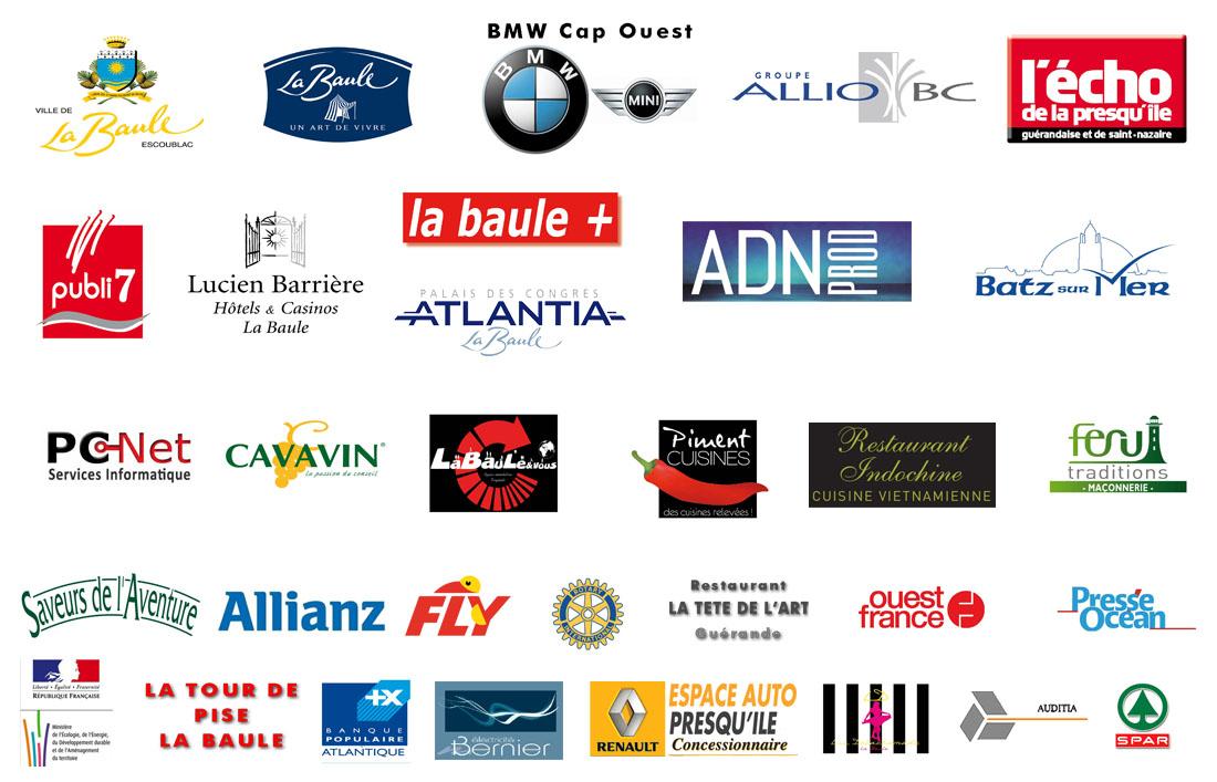 partenaires et sponsors La Baule Cap Coeur